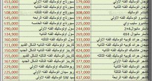 صور اسعار السيارات الجديدة فى مصر , اجدد الاسعار للعربيات الحديثة في مصر