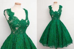 صورة تفسير حلم فستان اخضر , رؤية ارتداء فستان اخضر في المنام