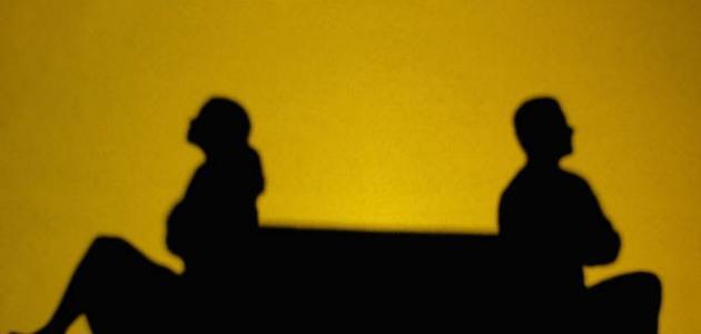صورة خصام الزوج لزوجته , غضب الرجل من زوجته وخصامها