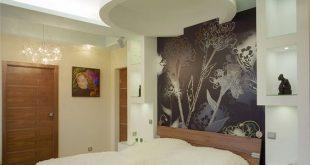 صورة حوائط جبس بورد , اجمل الجدران الجبسية باشكال ورد