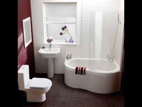 صور تصاميم حمامات صغيرة جدا , ديزاينات تواليت للمساحات الصغيرة