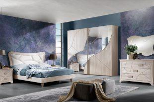 صور احدث غرف نوم مودرن كاملة , اجدد واروع اوض نوم حديثة