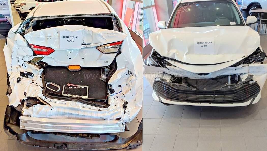 بالصور سيارات مصدومه , صور عربيات في حوادث 1386 10