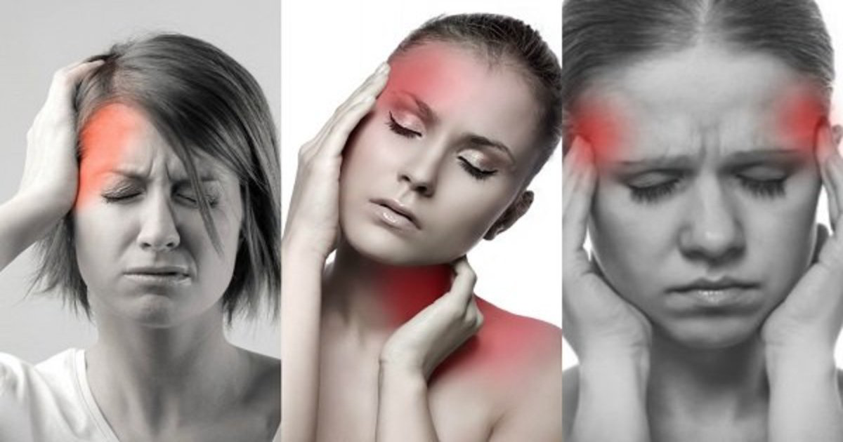 صور اسباب الصداع , المسببات الرئيسية في صداع الراس
