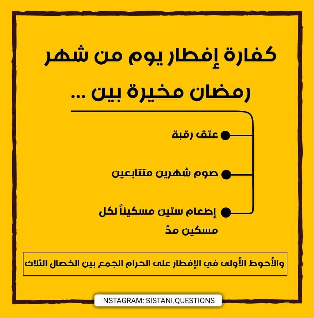 حكم افطار يوم في رمضان عمدا