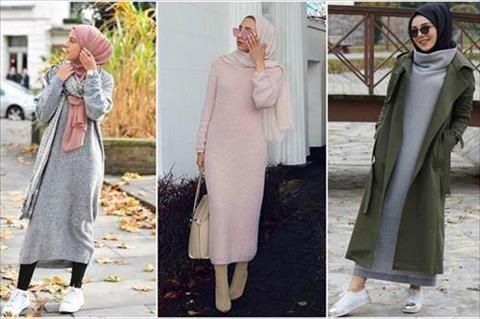 بالصور اخر صيحات الموضة للمحجبات , اروع الاستايلات والازياء للفتيات المحجبة 1459 10