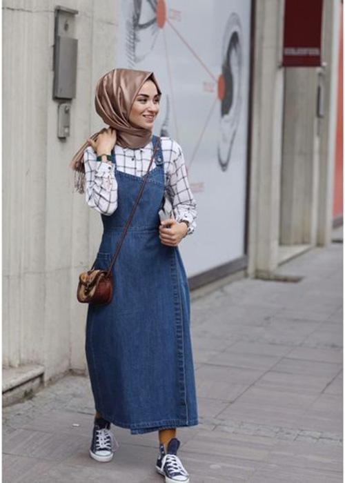 بالصور اخر صيحات الموضة للمحجبات , اروع الاستايلات والازياء للفتيات المحجبة 1459 2