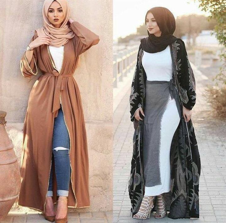 بالصور اخر صيحات الموضة للمحجبات , اروع الاستايلات والازياء للفتيات المحجبة 1459 3