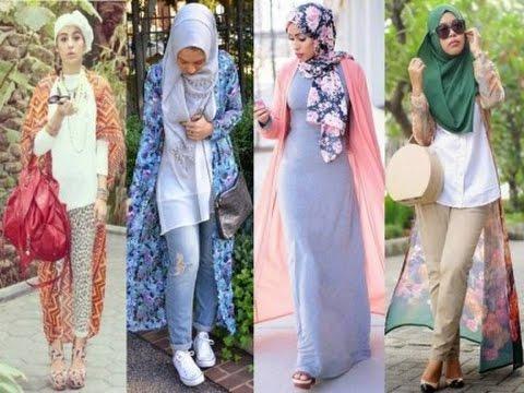 بالصور اخر صيحات الموضة للمحجبات , اروع الاستايلات والازياء للفتيات المحجبة 1459 7