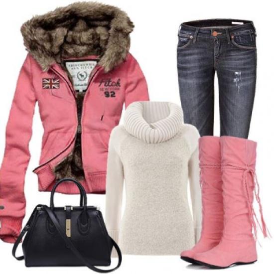 صور صور ملابس شتويه , واو ما اجمل الشتاء