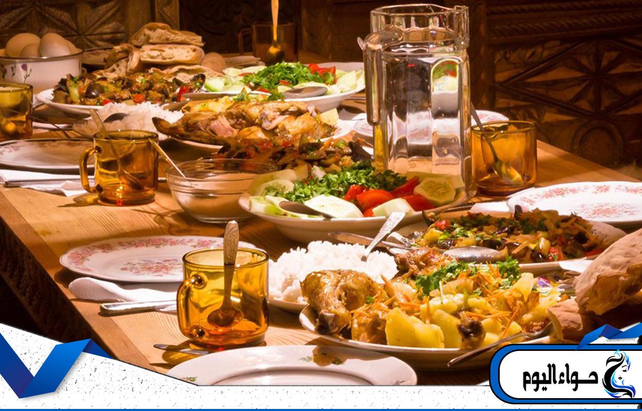 صورة طبخات رمضان , الطبخ في رمضان