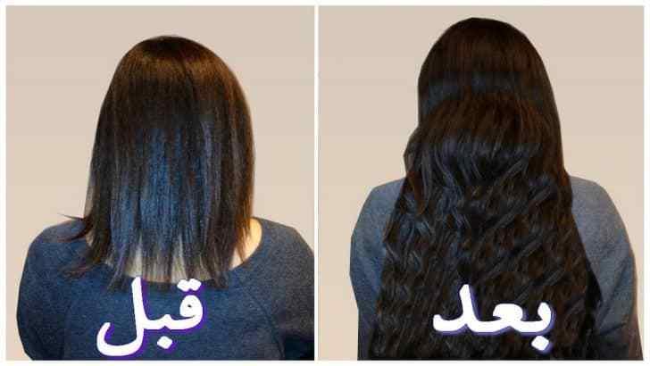 صورة خلطات تطويل الشعر , اتعلمي ايه الحاجات اللي بتساعد شعرك انه يطول باستمرار