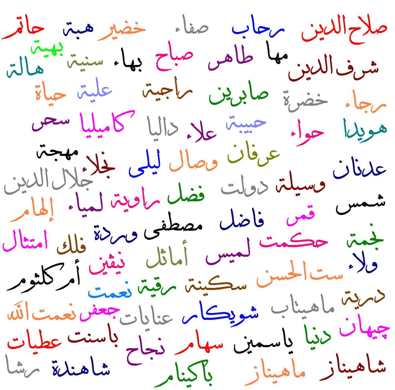 صورة اسماء في غاية الجمال , معاني اسماء بنات 5291