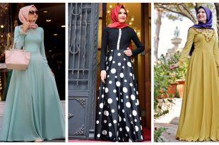 صورة فساتين تركية للمحجبات, احدث الفساتين التركيه