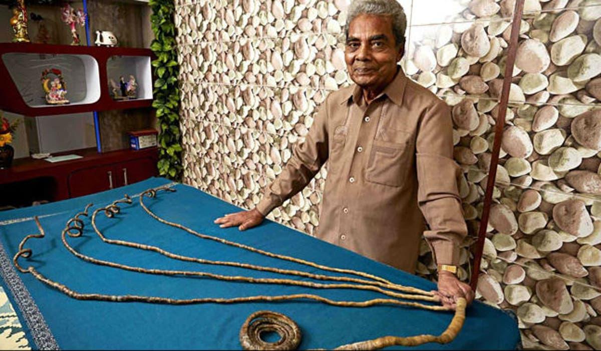 صورة من هو صاحب اطول اظافر هقلك , اطول اظافر في العالم 5815 3